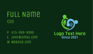 Nature Water Element Business Card