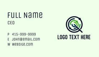 Telecommunication Radar Q Business Card