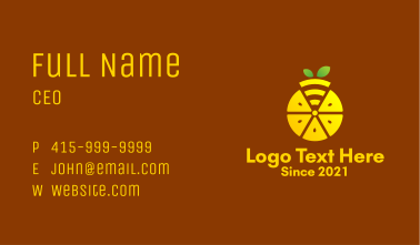 Lemon Wifi Online  Business Card