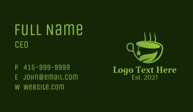 Natural Herbal Tea Business Card