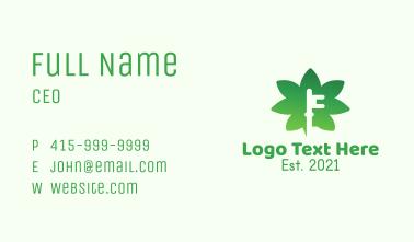 Cannabis Keysmith  Business Card