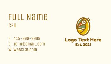 Tropical Toucan Bird Business Card