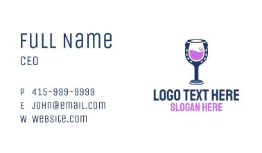 Horseshoe Drink  Business Card