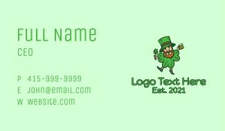 Lucky Leprechaun  Business Card