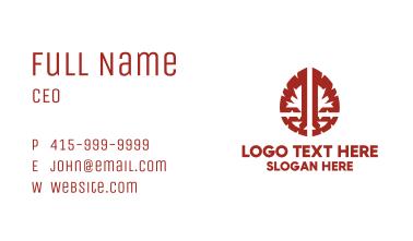 Brain Scan Neurology Business Card