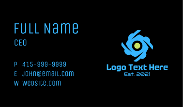 Spiral Tech Surveillance Business Card