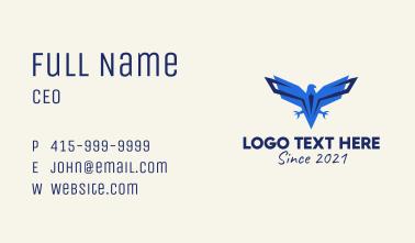 Blue Eagle Aviation Business Card