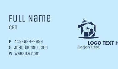 Home Quarantine  Business Card