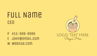 Trowel Gardening Pot Business Card