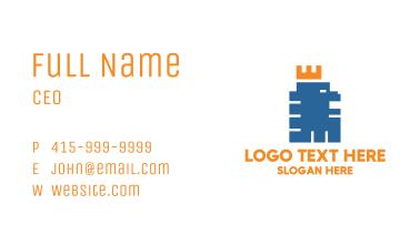 Pixel Lion Business Card