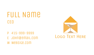 Mail Hour Business Card