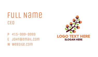 Nut Branch Business Card