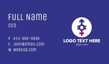 Gender Equality Business Card