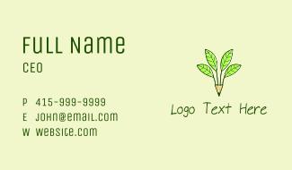 Pencil Plant Business Card