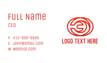 Wrench Lines Business Card