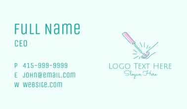 Nail Salon Wellness Spa  Business Card
