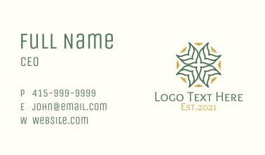 Arabic Religious Decoration  Business Card