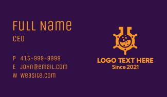 Laboratory Ship Helm  Business Card