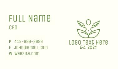 Yoga Meditation Business Card
