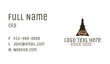 Eiffel Coffee  Business Card