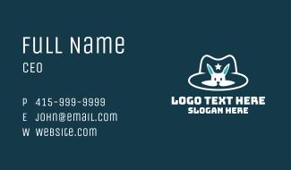 Magic Bunny Hat Business Card