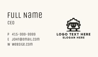 Geometric Sheep Business Card