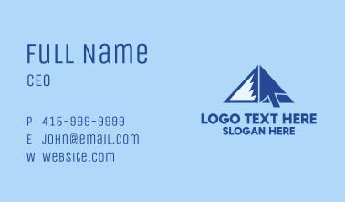 Mountain Online Cursor  Business Card