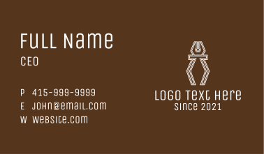 Hardware Pliers  Business Card