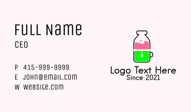 Healthy Juice Tea Business Card