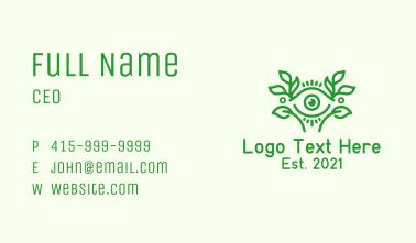Aesthetic Eye Leaf Business Card