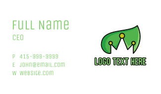Nature & Royalty Business Card