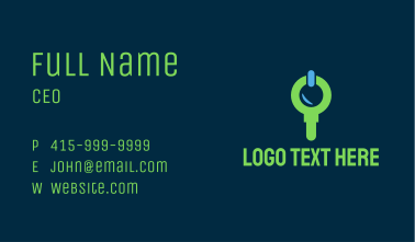 Search Power Technology Business Card