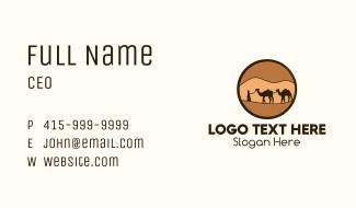 Sahara Desert Tour Business Card