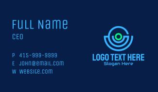 Surveillance Camera Tech  Business Card