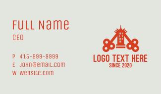Orange Key Tower Business Card