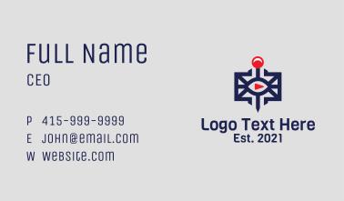 Game Gadget Joystick  Business Card