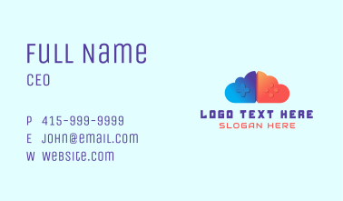 Gaming Cloud Business Card