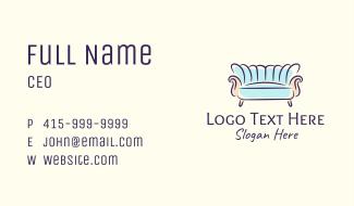 Stylish Sofa Furniture Business Card