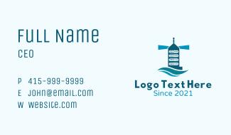 Server Tower Tech Business Card