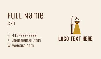 Brewed Coffee Light Business Card