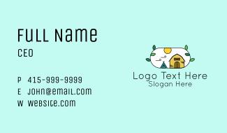 Barn Camping Business Card
