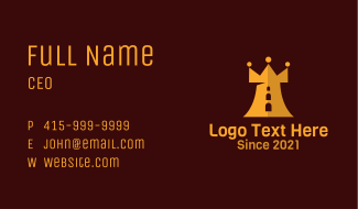 Crown Castle Fort Business Card