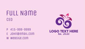 Floral Shop Decoration Business Card