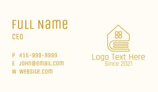 Golden Book House Business Card