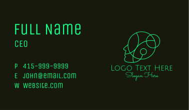 Human Head Counseling  Business Card