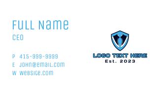 Shoe Emblem Business Card