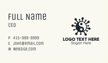 Yin Yang Virus Business Card