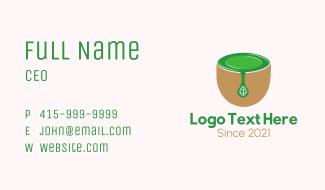 Tea Cup Drink Business Card