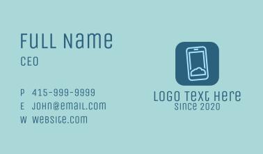 Phone Cloud Storage Business Card
