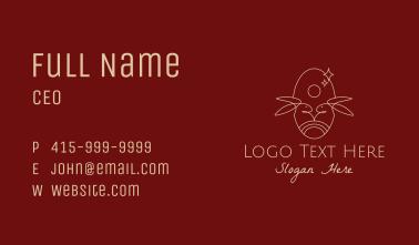 Dainty Rabbit Symbol Business Card